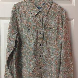 Liz Claiborne Button Up Shirt